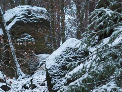 Bodensteiner Klippen – bouldern
